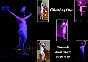 charles'ton fil de fer equilibre echassiers spectacle parade animation cirque evenementiel