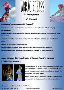 newsletter n° 2013-03