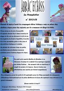 newsletter n° 2013-08