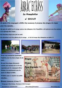 newsletter n° 2013-07
