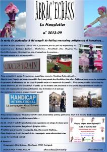 newsletter n° 2013-09