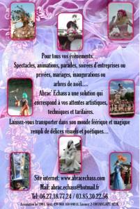 plaquette spectacle artiste cirque abrac echass echassiers cracheurs de feu filferiste acrobates cirque magieanimation evenementiel (1)