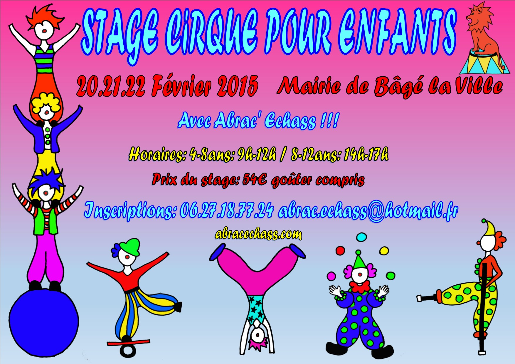 Populaire stages cirque | FV62