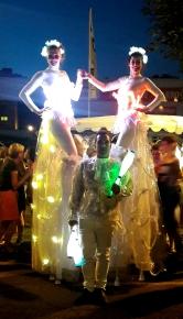 Diphylleia, echassiers, transparents, lumineux, leds, evenementiel, poetique (21)