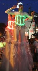 Diphylleia, echassiers, transparents, lumineux, leds, evenementiel, poetique (44)