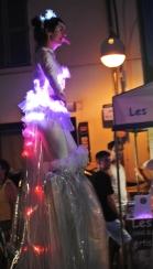 Diphylleia, echassiers, transparents, lumineux, leds, evenementiel, poetique (45)