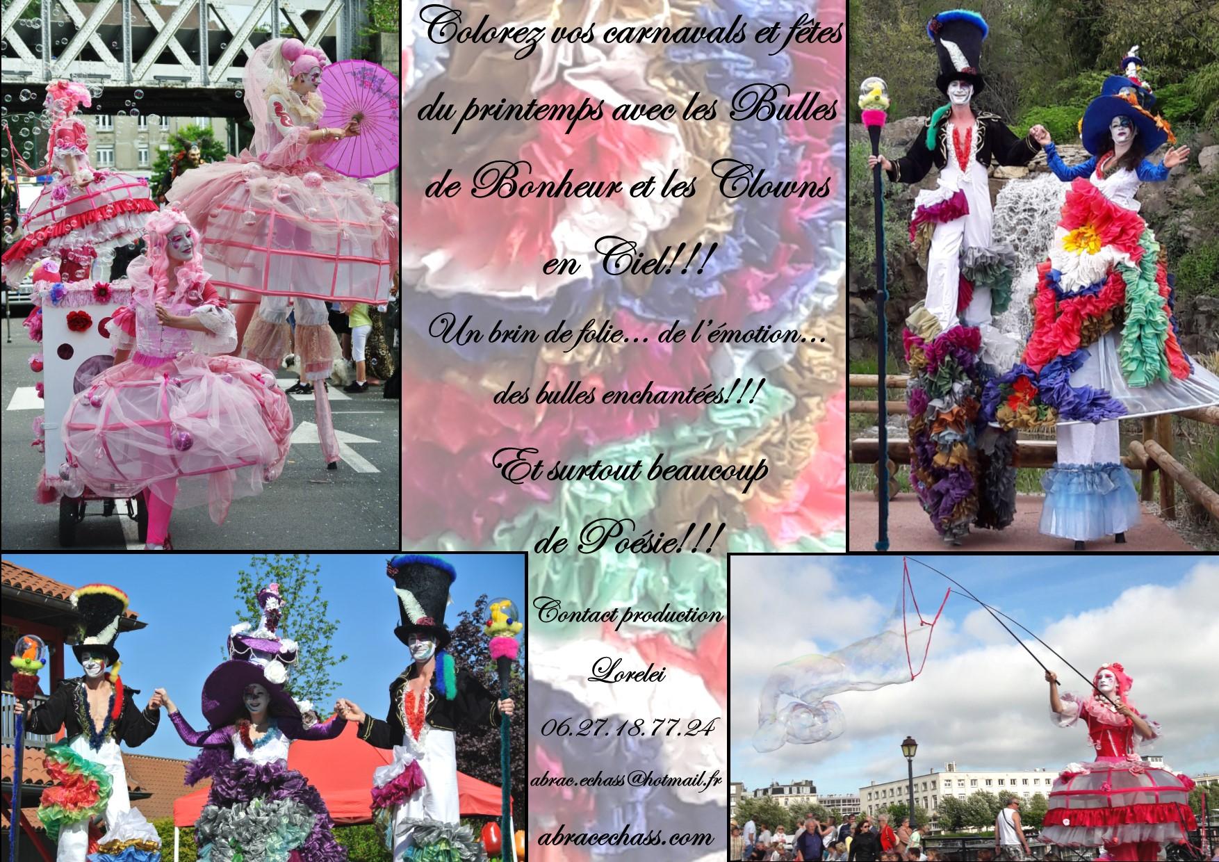 Carnavals et fêtes duprintemps