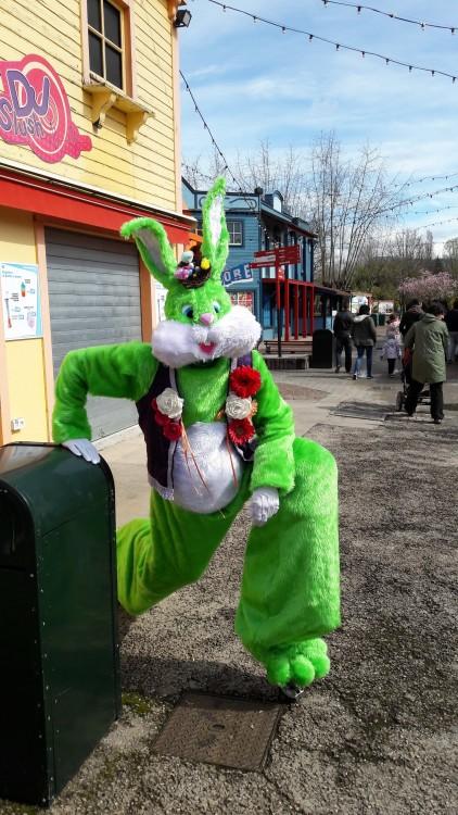 Lapinous' Foufous echassiers rebondissants loufoques parade animation evenementiel lapins fantaisie extravagance sautillants mascottes paques (12)