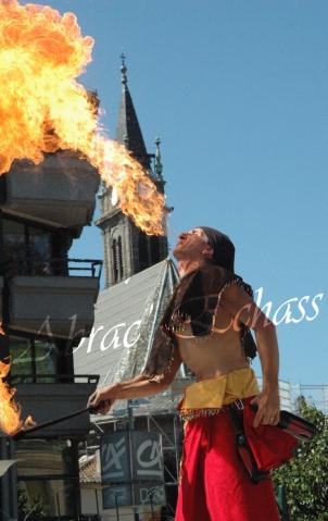 4 elements echassiers eau terre air feu sirene elfe maya cracheur de feu parade animation spectacle carnaval magique colores (11)