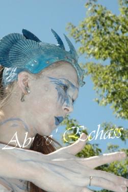 4 elements echassiers eau terre air feu sirene elfe maya cracheur de feu parade animation spectacle carnaval magique colores (18)