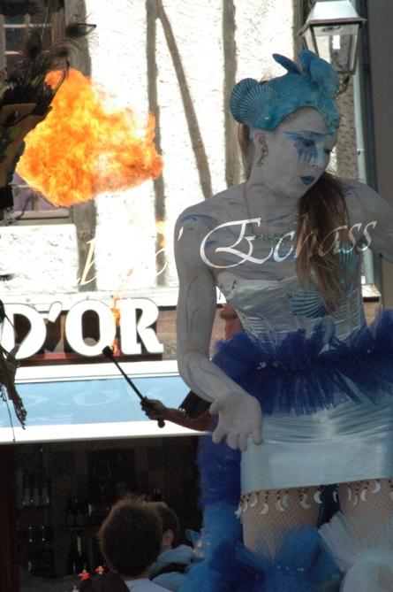 4 elements echassiers eau terre air feu sirene elfe maya cracheur de feu parade animation spectacle carnaval magique colores (21)