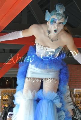4 elements echassiers eau terre air feu sirene elfe maya cracheur de feu parade animation spectacle carnaval magique colores (30)