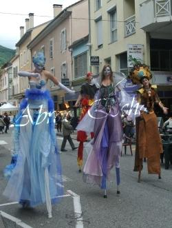 4 elements echassiers eau terre air feu sirene elfe maya cracheur de feu parade animation spectacle carnaval magique colores (32)