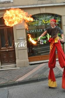 4 elements echassiers eau terre air feu sirene elfe maya cracheur de feu parade animation spectacle carnaval magique colores (33)