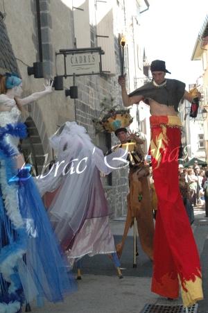 4 elements echassiers eau terre air feu sirene elfe maya cracheur de feu parade animation spectacle carnaval magique colores (8)