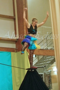 boite à merveilles spectacle rue cirque festival mat chinois fil de fer clowns jongleurs aerien girly kawai(102)