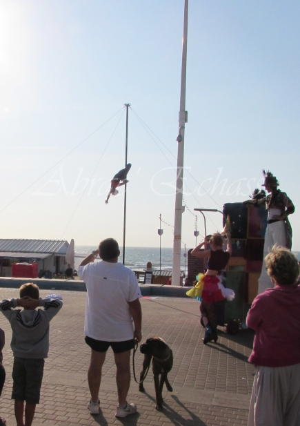 boite à merveilles spectacle rue cirque festival mat chinois fil de fer clowns jongleurs aerien girly kawai(175)