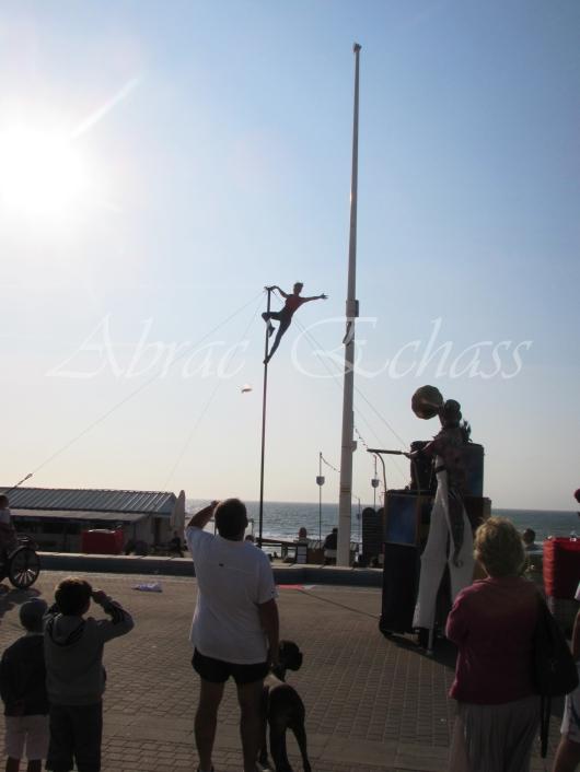 boite à merveilles spectacle rue cirque festival mat chinois fil de fer clowns jongleurs aerien girly kawai(176)