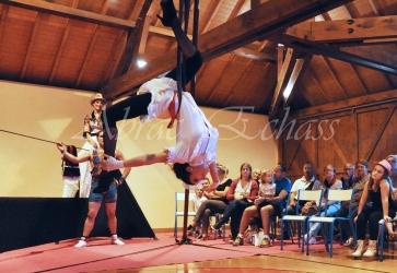 boite à merveilles spectacle rue cirque festival mat chinois fil de fer clowns jongleurs aerien girly kawai(58)
