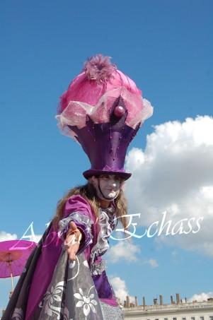 bulles de bonheur echassier parade colores festifs carnaval grandiose crinolines bulles de savon rose girly kawai (32)