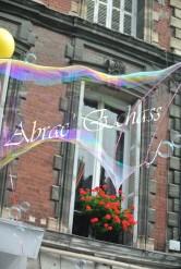 bulles de bonheur echassier parade colores festifs carnaval grandiose crinolines bulles de savon rose girly kawai (67)
