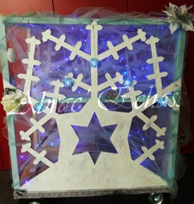 echass neige echassiers lumineux leds hiver fourrures colores parade noel marches noel animation char a neige musical magique feerique (25)