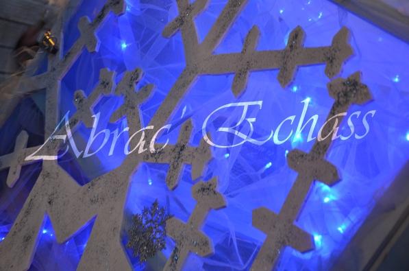 echass neige echassiers lumineux leds hiver fourrures colores parade noel marches noel animation char a neige musical magique feerique (48)