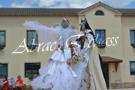 le songe de loeridis echassiers feeriques contes et merveilles spectacle fantastique parade animation elfes fees dragon loup echasses poes (4)