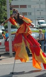 saltimbanques echassiers parade animation fous du roi colores festifs jongleurs acrobates (16)