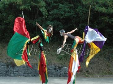 saltimbanques echassiers parade animation fous du roi colores festifs jongleurs acrobates (23)
