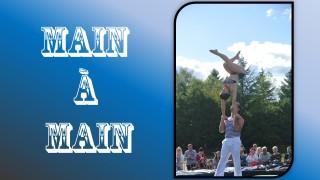 main a main acrobatie cirque spectacle evenementiel animation